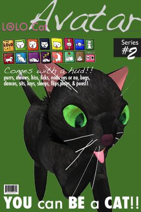 Little Black Cat Avatar