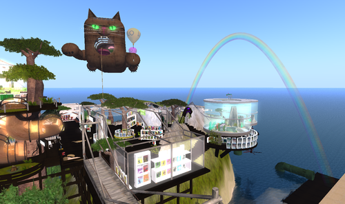 Rainbow at The LOLO Pet Shop!