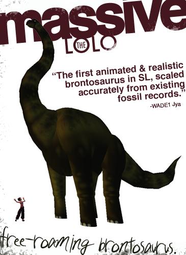 Brontosaurus Graphic