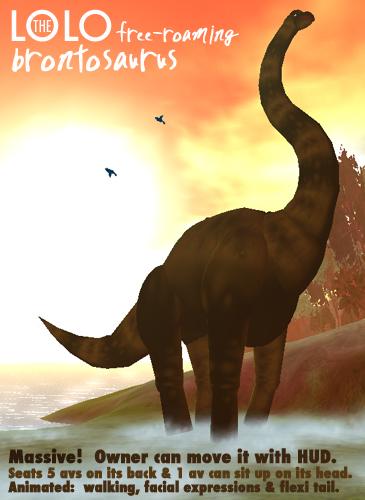 Brontosaurus Ad Box Graphic