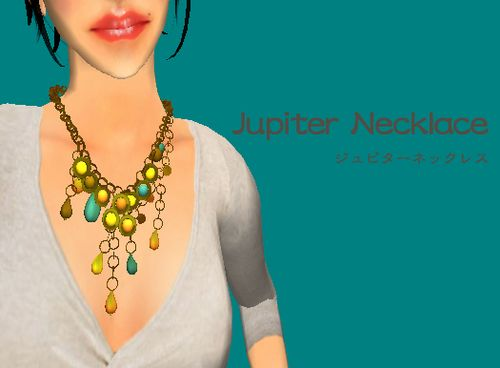 Jupiter-necklace-green