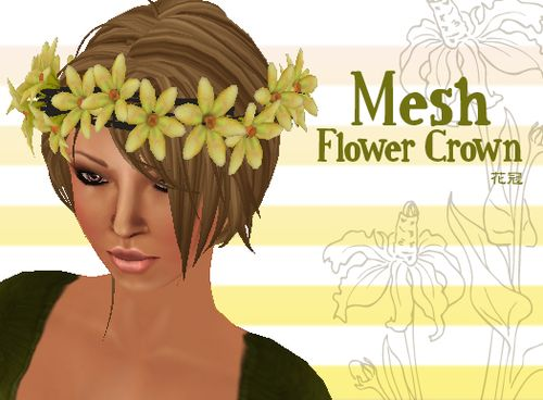 Flower-crown-yellow