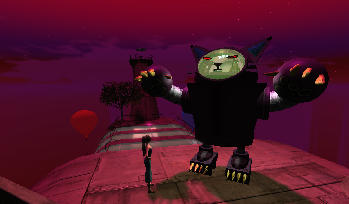 New Product Launched in Second Life: The Robot Cat - The